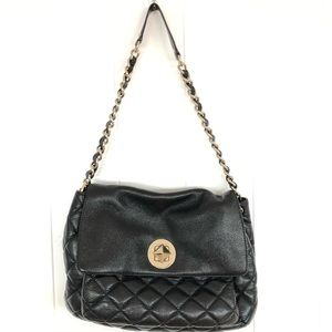 Kate Spade GoldCoast Corinne black leather bag
